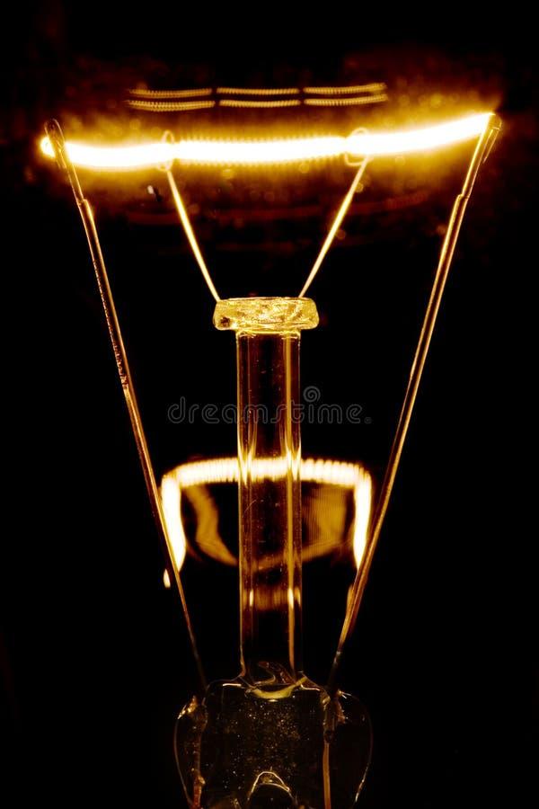 свет нити шарика накаляя стоковое изображение rf