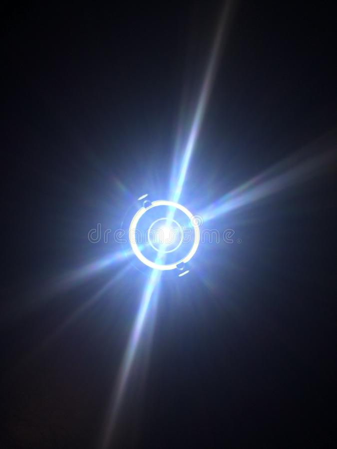 Свет одно луча стоковое изображение