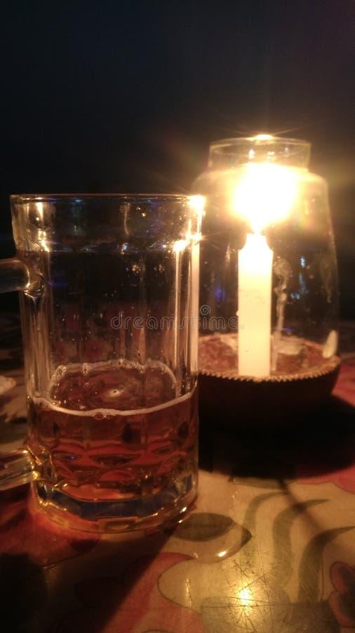 Свет пива стоковое изображение rf