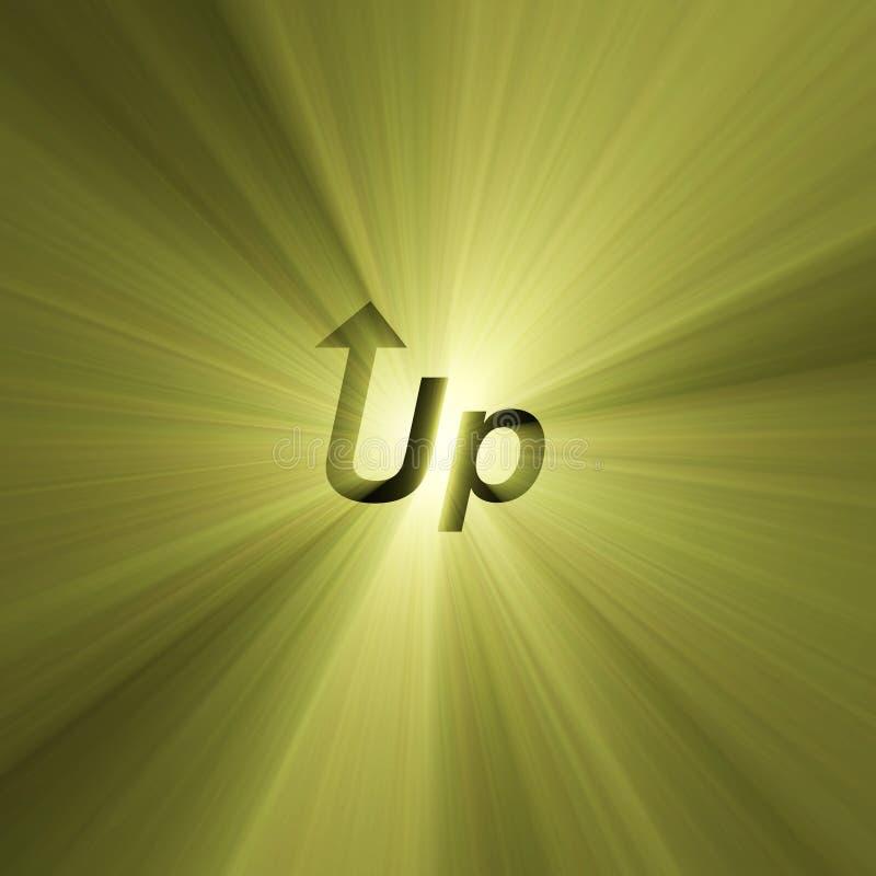 свет письма пирофакела стрелки подписывает вверх бесплатная иллюстрация