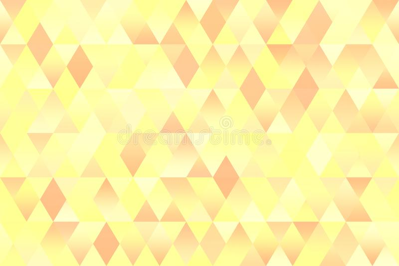 Свет предпосылки Rhomb весны пастельной красочной картины треугольника безшовный геометрический - желтая краснокоричневая текстур бесплатная иллюстрация