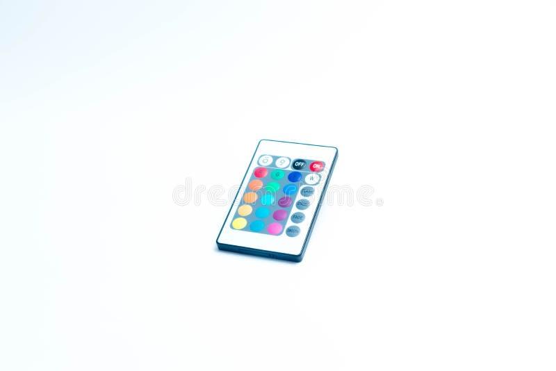 Свет приведенный пусковой площадки ключа дистанционного управления прокладки стоковое фото