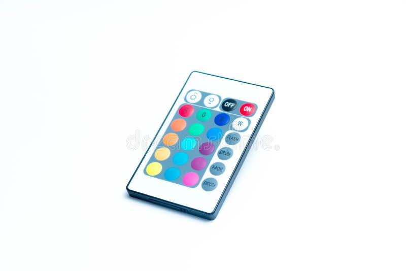 Свет приведенный пусковой площадки ключа дистанционного управления прокладки стоковое изображение