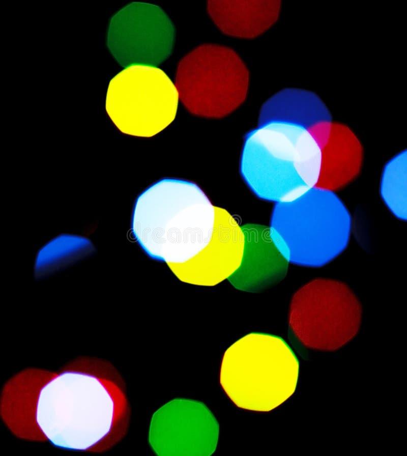 свет рождества стоковые изображения rf