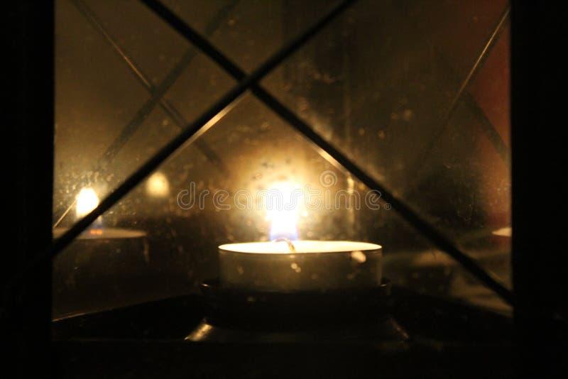 Свет свечи стоковое фото rf