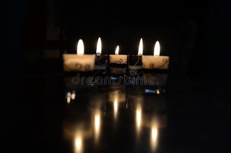 Свет свечи стоковые изображения