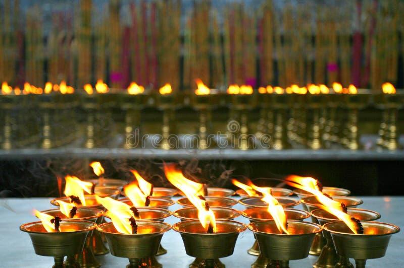 свет счастья ghee молит стоковые изображения