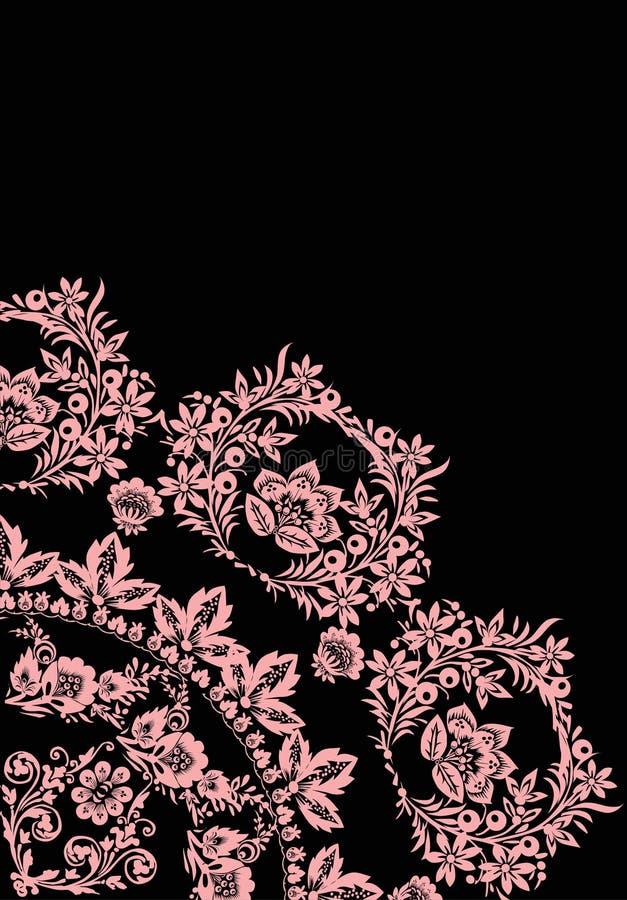 свет цветков - pink квадрант иллюстрация штока