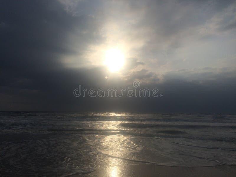 Свет через облака стоковое изображение rf