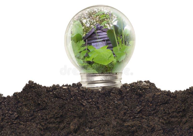 свет шарика экологический Стоковая Фотография