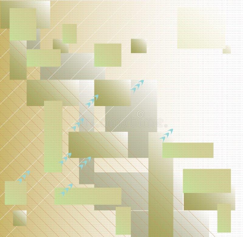 Светлый геометрический фон стоковая фотография rf