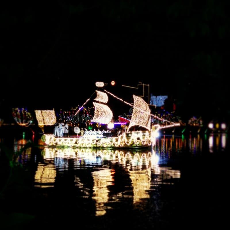 Светлый корабль стоковые изображения