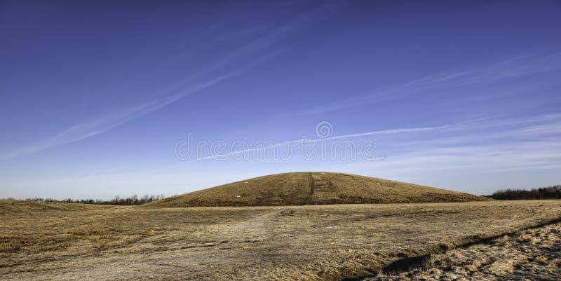 Светлый наземный ориентир холма в Esbjerg, Дании стоковые изображения rf