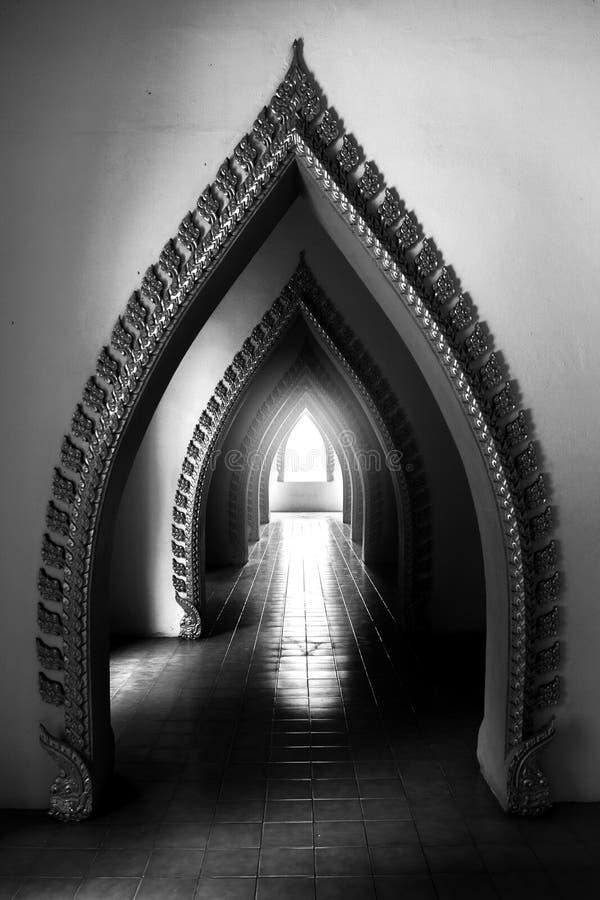 Светлый путь к доктрине стоковое фото