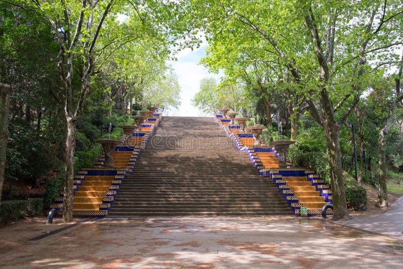 светлый stairway к стоковые фото