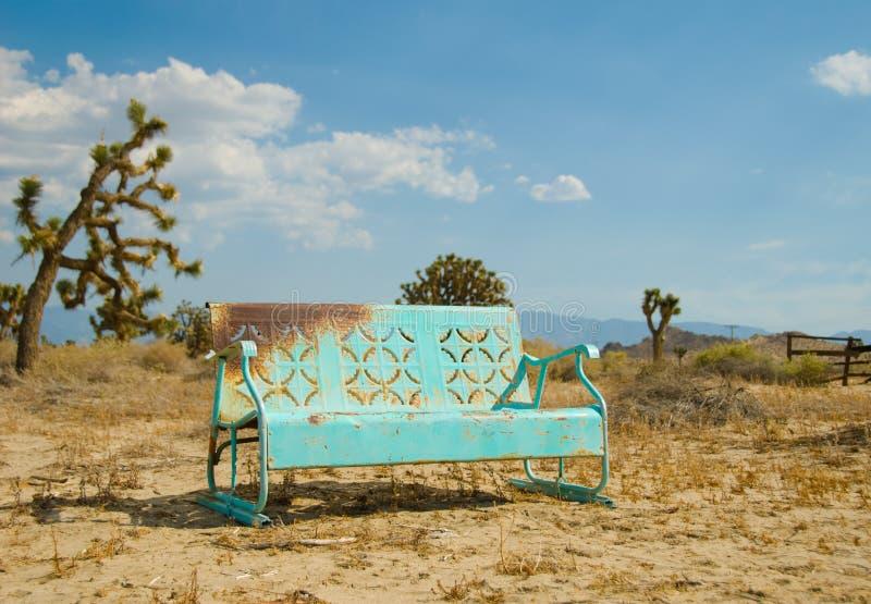 свет california стенда голубым забытый deser стоковые фотографии rf
