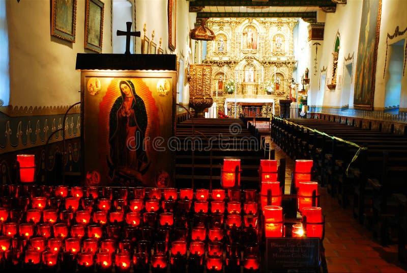 Свечи молитве стоковая фотография rf