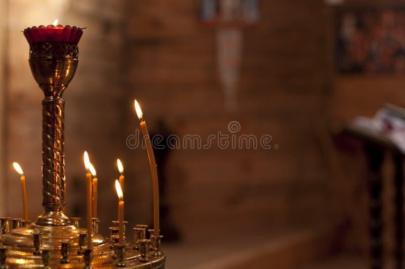 Свечи ожога стоковая фотография rf