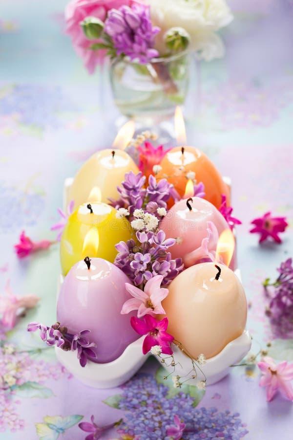Свечи пасхи стоковая фотография
