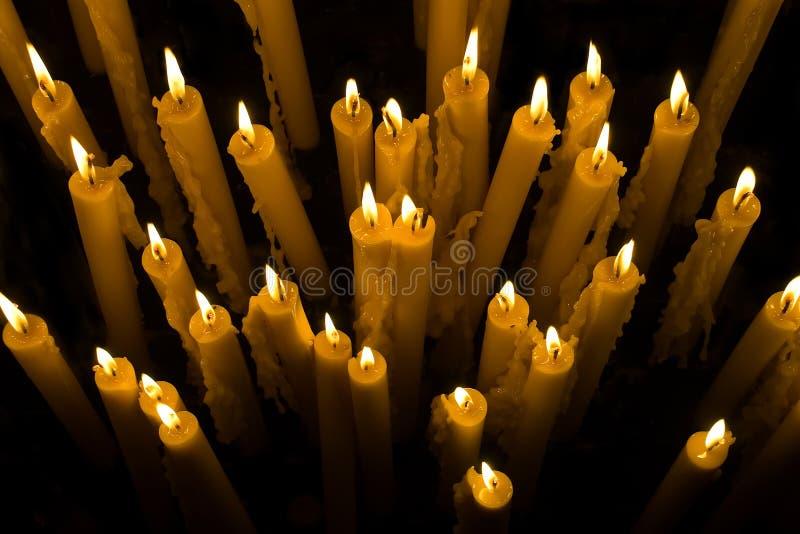 Свечи. стоковые изображения