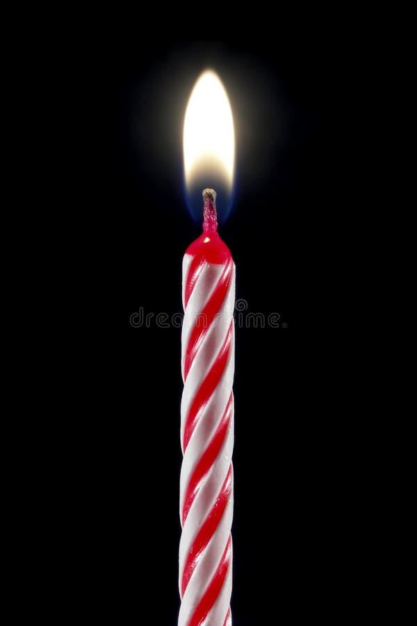 свечка дня рождения стоковая фотография
