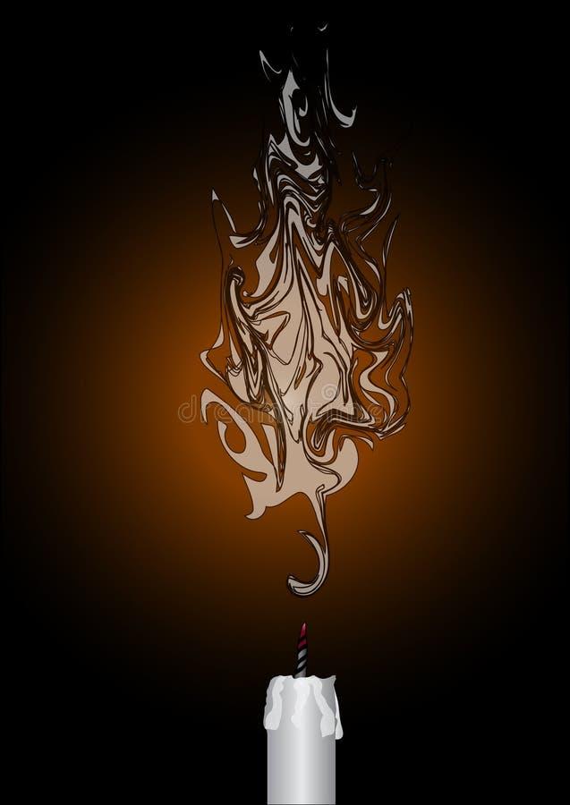 свечка бесплатная иллюстрация