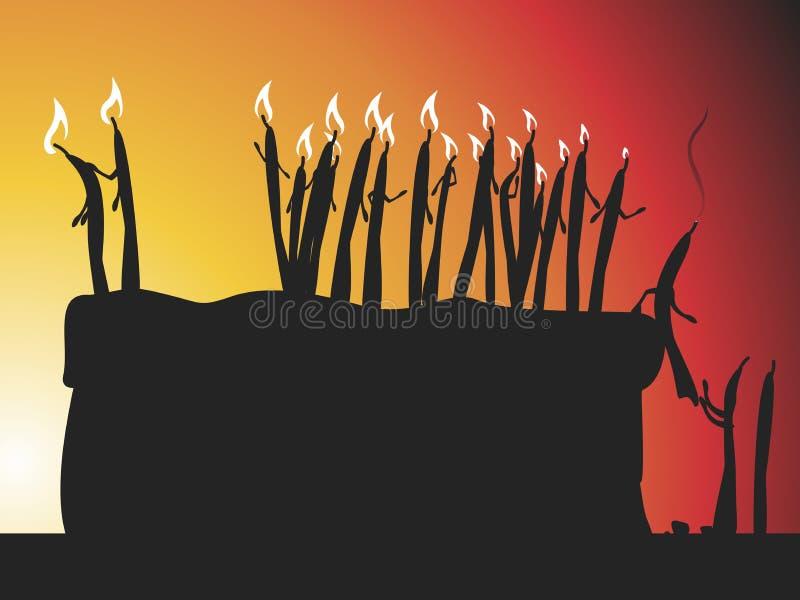 свечки Конец ` ` времени