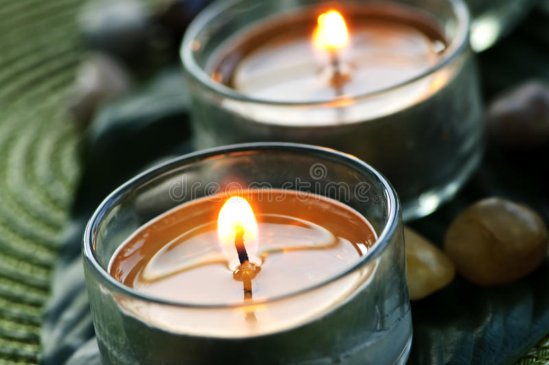 свечки стоковая фотография rf
