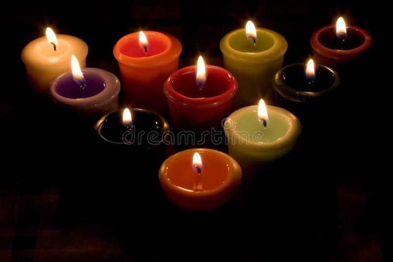 Download свечки стоковое изображение. изображение насчитывающей цветасто - 91343