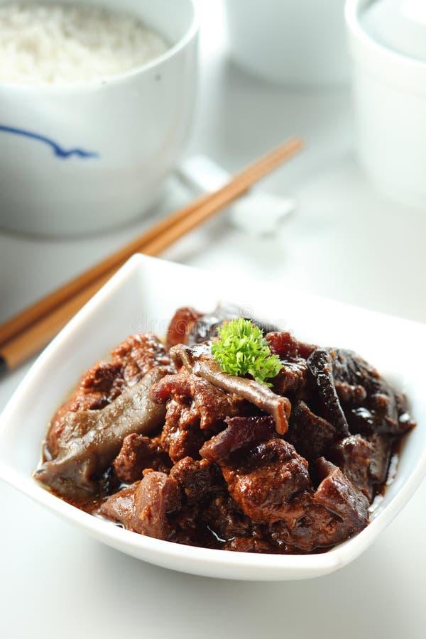 Свинина Stew стоковое изображение rf