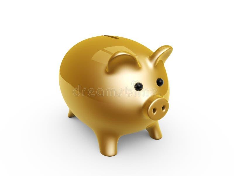 свинья банка иллюстрация вектора