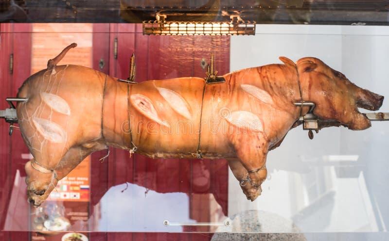 Свинья жаркого стоковые фото