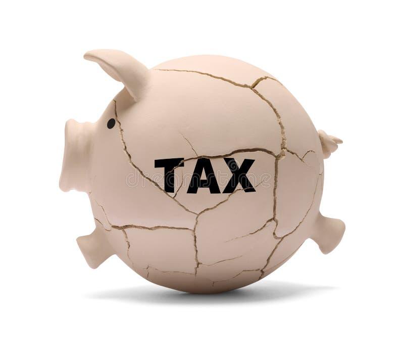 Свинья налога стоковое изображение