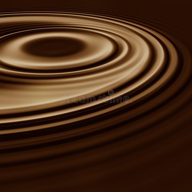 свирль кофе какао шоколада иллюстрация вектора