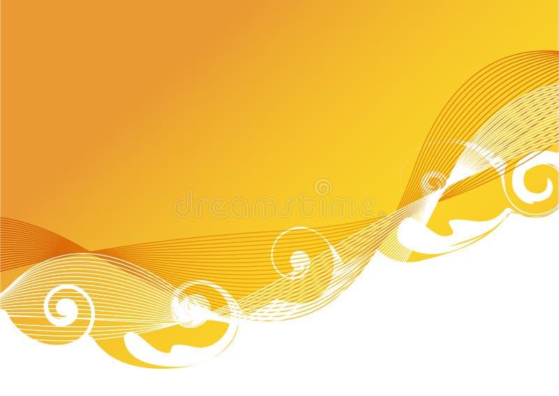 свирль предпосылки иллюстрация вектора