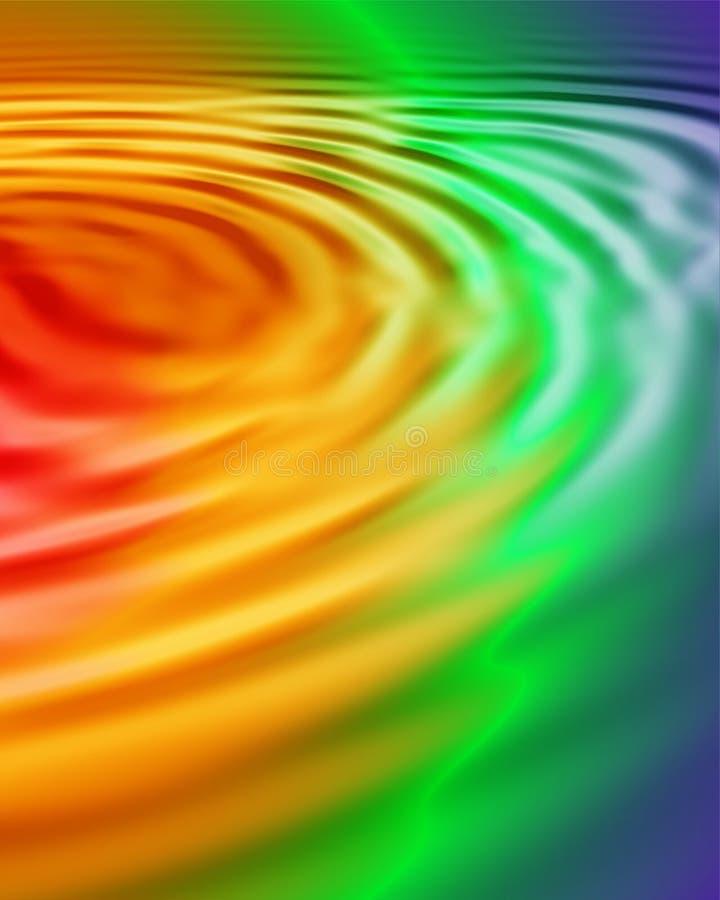 свирль радуги иллюстрация штока