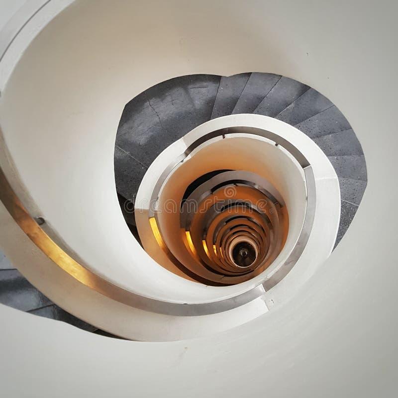 Свирль лестницы стоковое фото rf