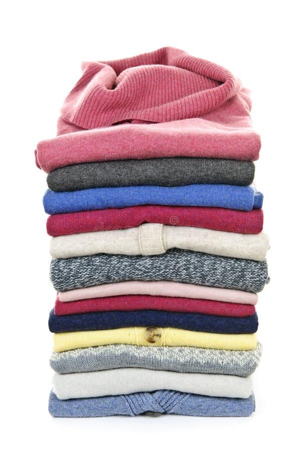 свитеры стога стоковое изображение