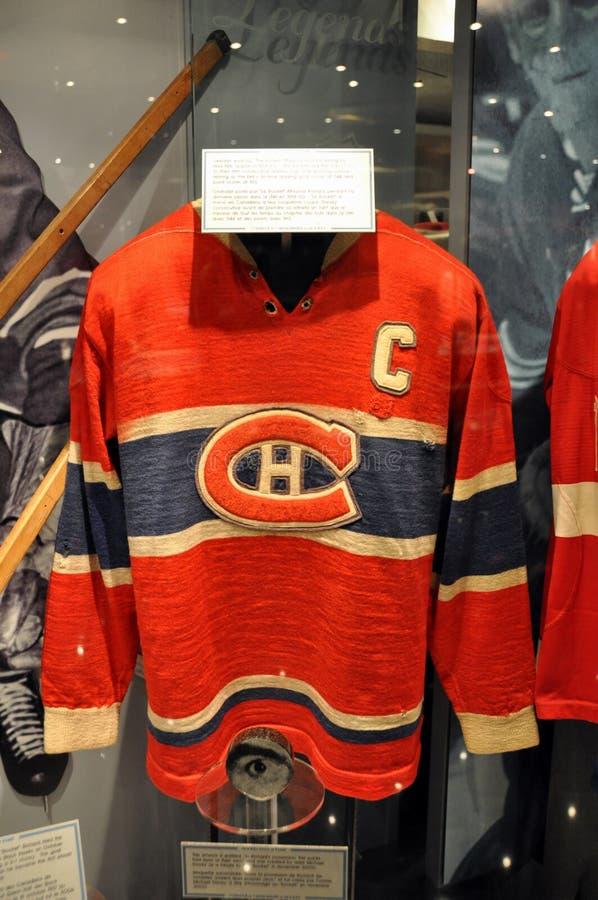 свитеры хоккея залы славы стоковое изображение rf
