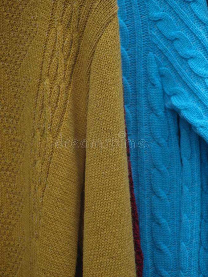свитеры стоковое изображение