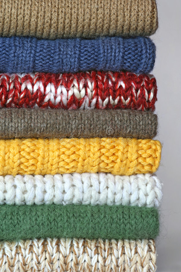 свитеры стоковые фото