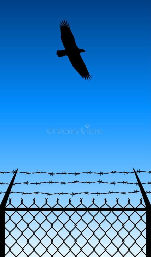 свобода полета бесплатная иллюстрация