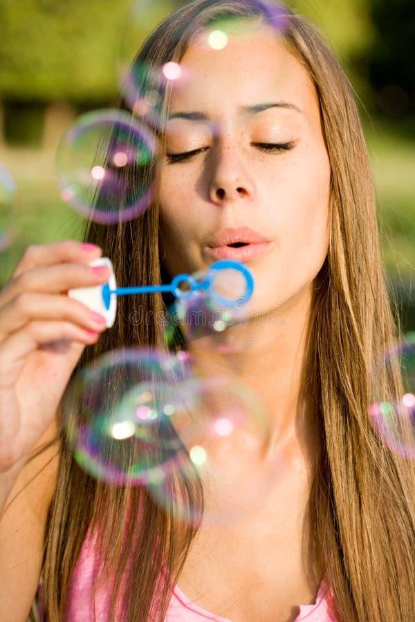 Свобода пузыря. стоковая фотография rf