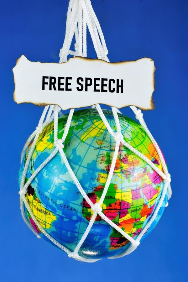 Свобода слова — право человека свободно выражать свои мысли, как устно, так и в письменной форме, свободу печати и стоковые изображения rf