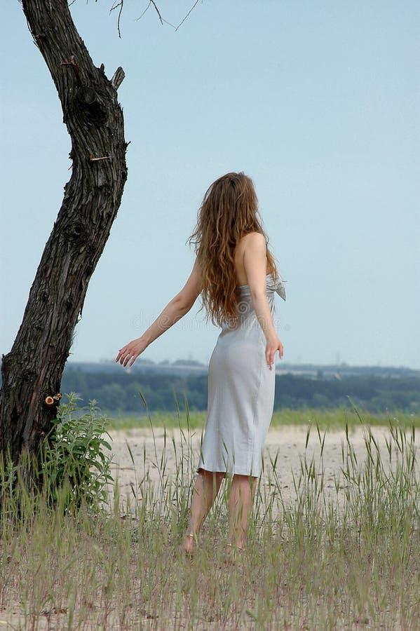 свободная девушка стоковое изображение rf