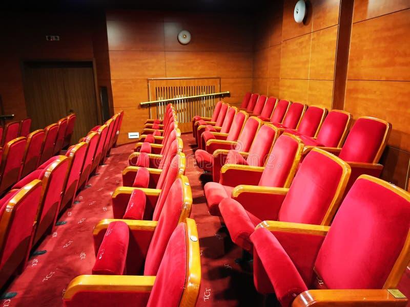 Свободные места в театре стоковые фотографии rf