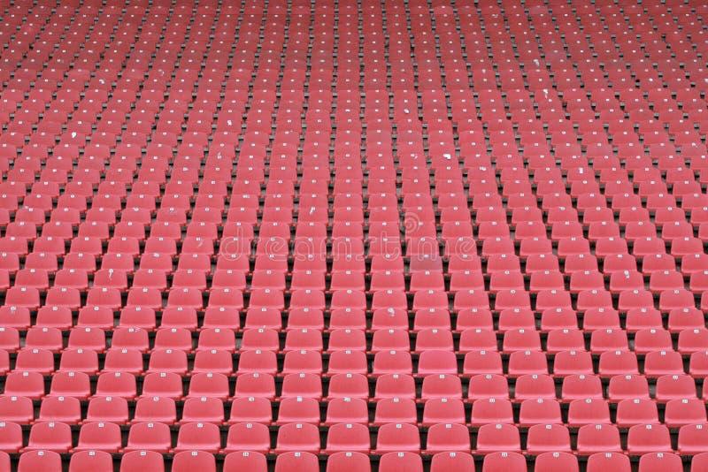 Свободные места на стадионе стоковые фото
