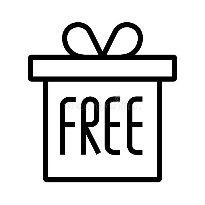 Свободный значок подарка бесплатная иллюстрация