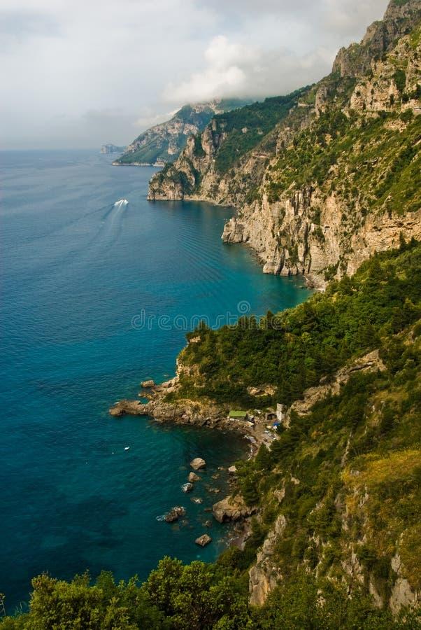 свободный полет Италия amalfi стоковая фотография rf