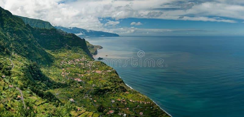 свободный полет Мадейра северная стоковое изображение